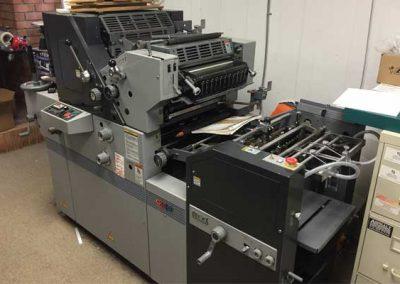 AB Dick 9980 Offset Duplicator Press