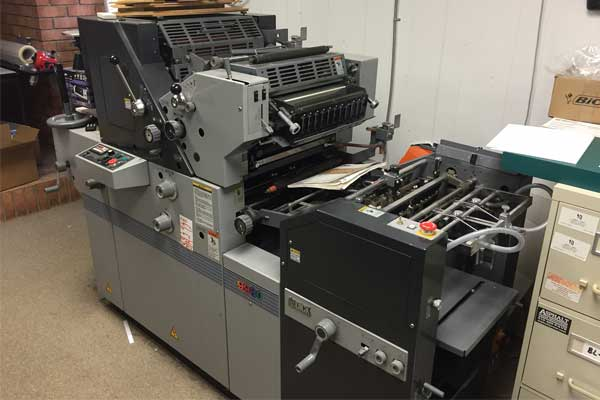 AB Dick 9980 Offset Duplicator Press