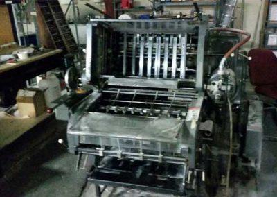 Heidelberg KSBA 18×23 Cylinder Press