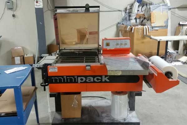 Minipack Galaxy Shrink Wrap System