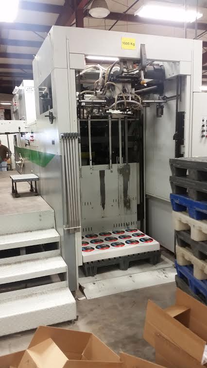 2003 Bobst SP Evoline 102-E Flatbed Cutter -2