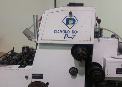Diamond P7-13 Two Color Envelope Press