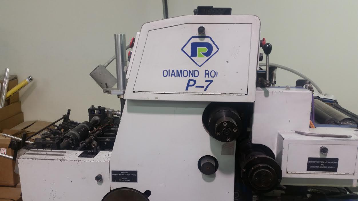 Diamond P7-13 Two Color Envelope Press-1