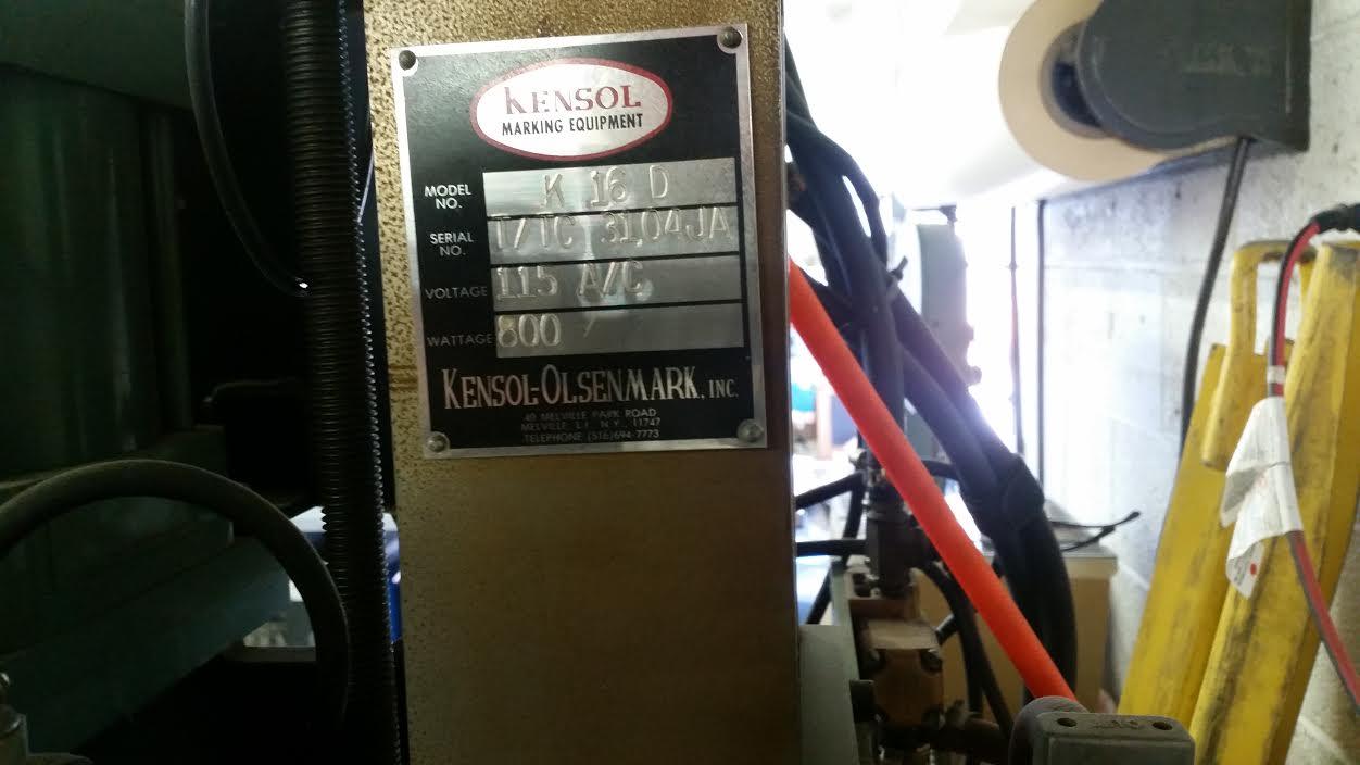 Kensol Stamping Machines - 1