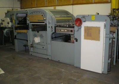 Bobst SP 1260-E Die Cutter Press (Fully Rebuilt)