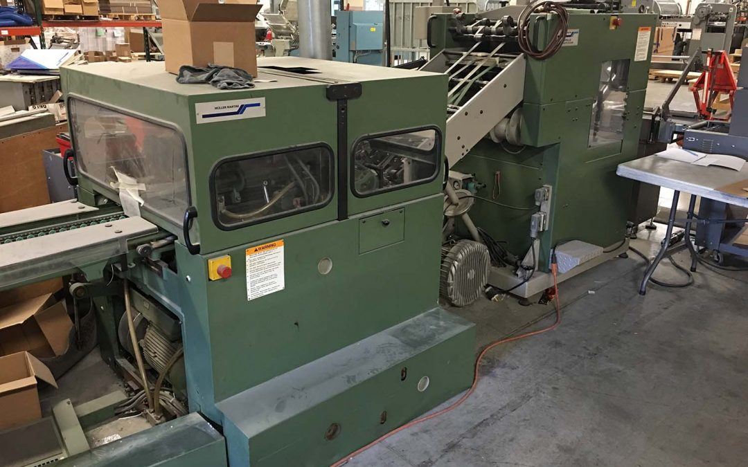 1995 Muller Martini 321 Fox Stitcher