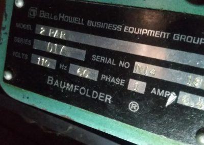 Baumfolder 2 Par Electric Paper Folder