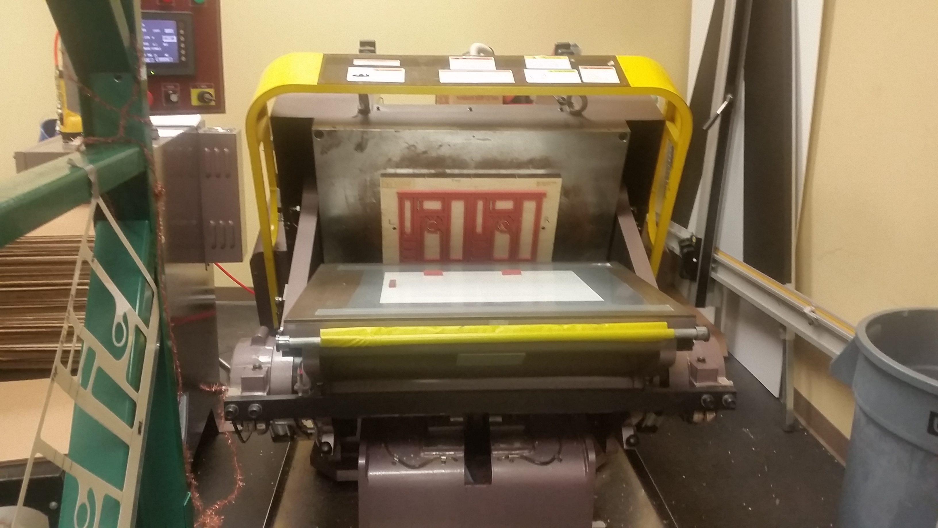 Weidhaas Crest Clamshell Diecutting Press
