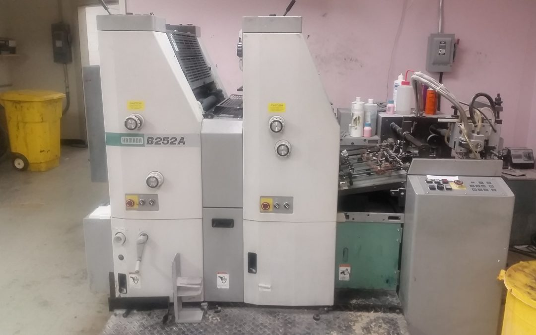 Hamada B252A Offset Press