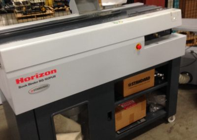 Horizon BQ 160 Pur Perfect Binder with Horizon CRB- 160 Creaser