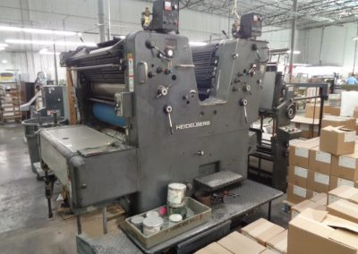 Used Offset Sheetfed Printing Press Heidelberg SORSZ