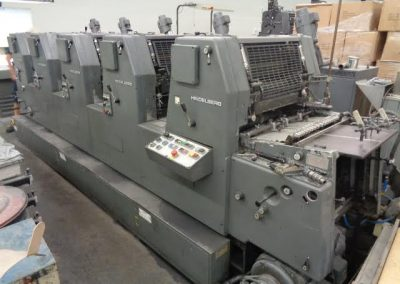Used Offset Sheetfed Printing Press Heidelberg GTO 52 5