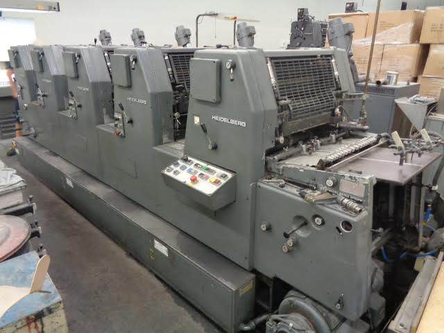 1987 Heidelberg GTOFP-521