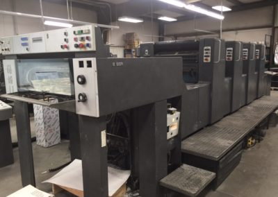 1995 Heidelberg SM 74 4PH 4-Color Offset Printing Press