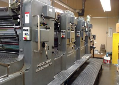 Used Offset Sheet-fed Printing Press Heidelberg SM 102 V