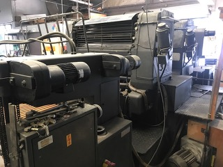 Heidelberg SM 102 ZP 2-Color Offset Printing Press4