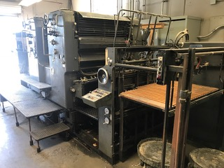 Heidelberg SM 102 ZP 2-Color Offset Printing Press5