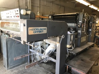Heidelberg SM 102 ZP 2-Color Offset Printing Press