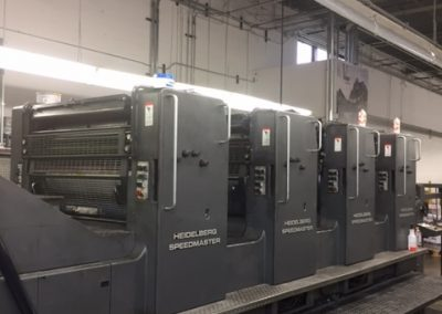 1990 Heidelberg 102VP 4-color Offset Printing Press