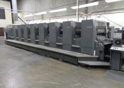 Heidelberg CD102-7+L, 7-color Plus Coating Offset Printing Press