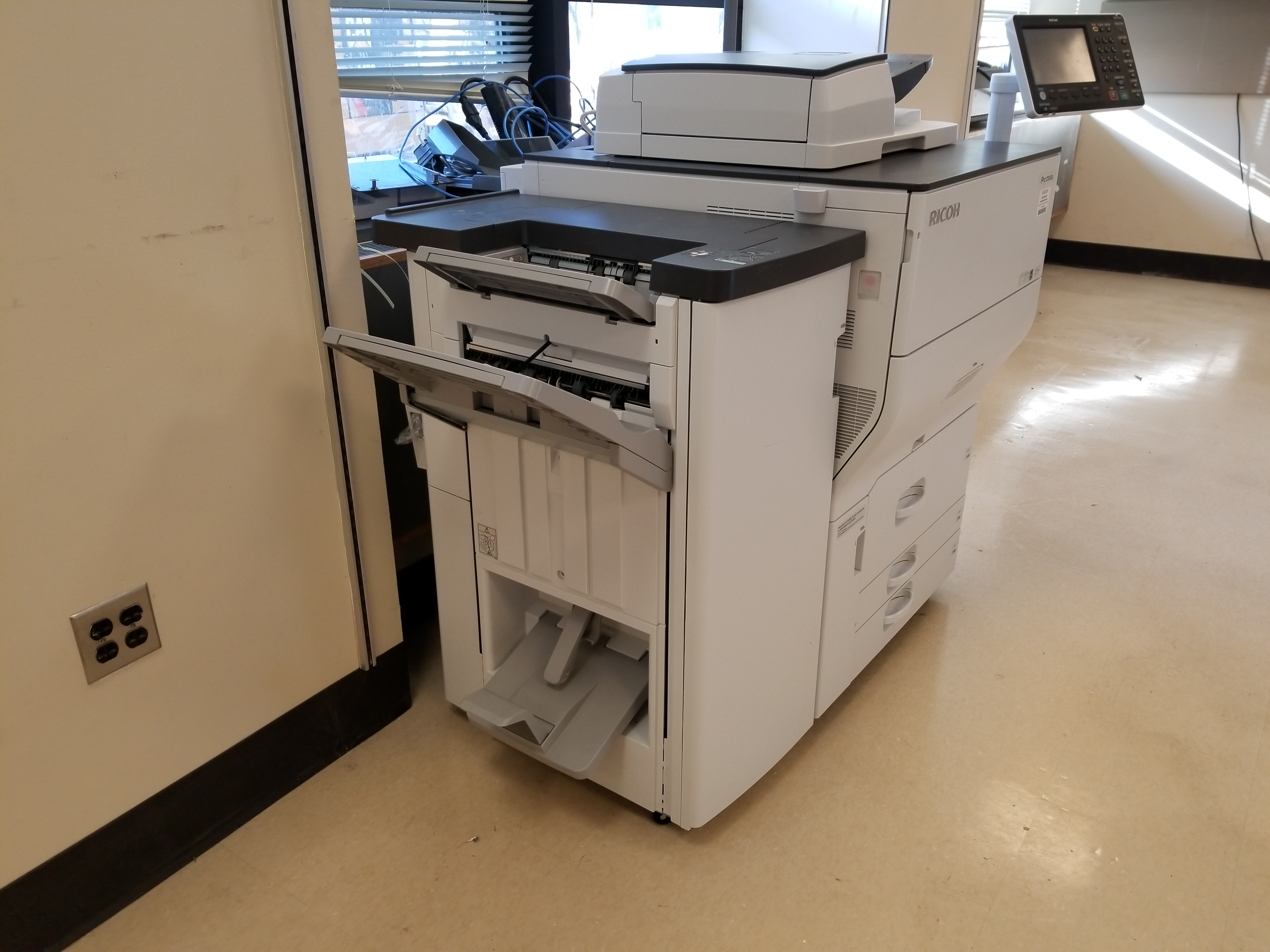 2016 Ricoh Pro C5100 with Booklet Finisher with Scanner - 2