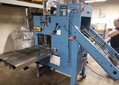 1995 Rima RS-10S 9 1/4″ Drop Bindery Stacker