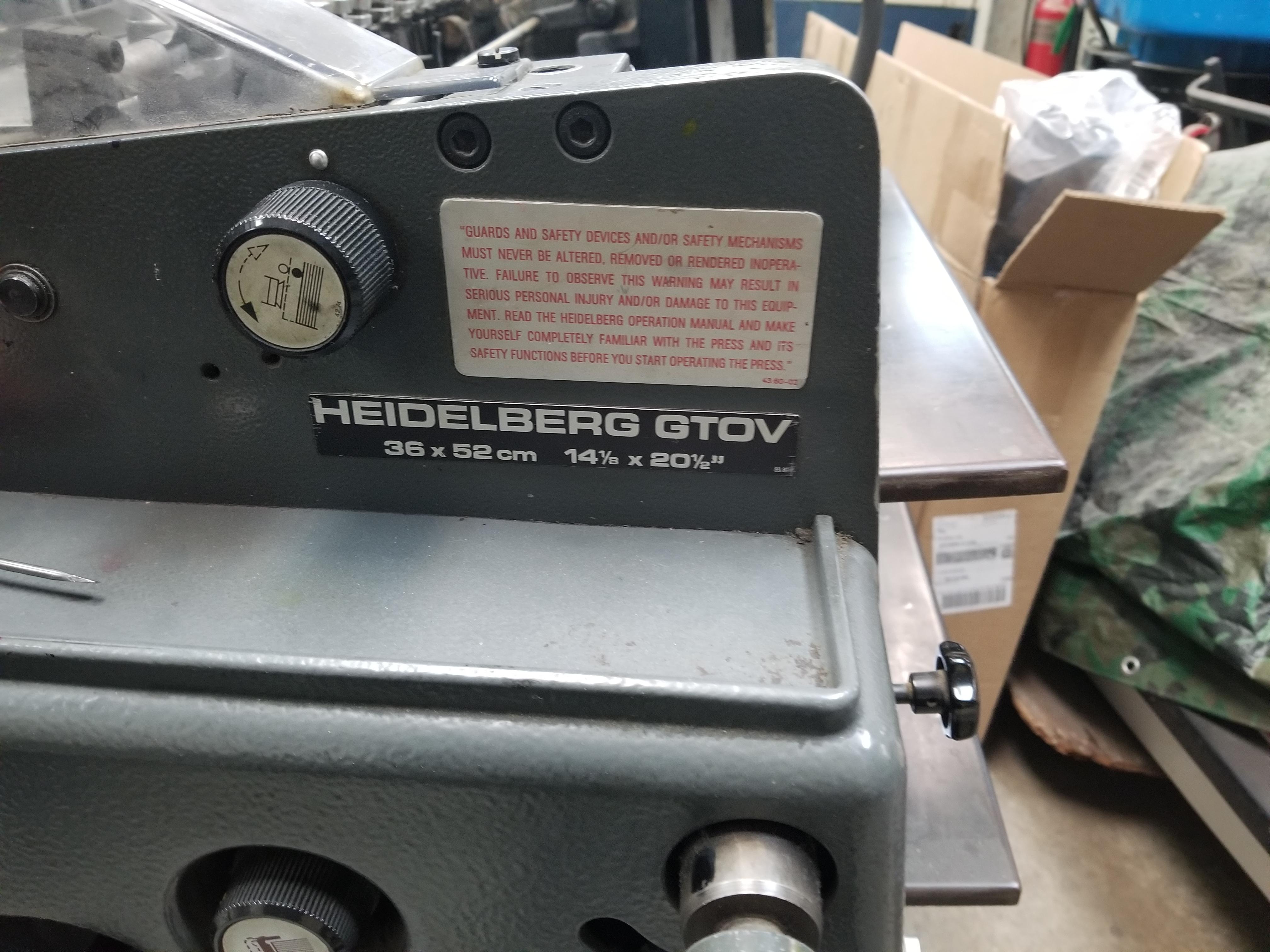 1984 Heidelberg GTOV 52 - 4