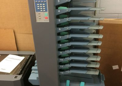 2010 Duplo DFC-120 Booklet Maker
